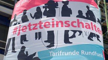 """SWR-Aktion """"Eiszeit"""" Tarifrunde 2019: #jetzteinschalten"""