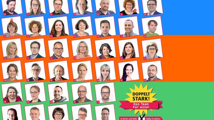 Die Kandidat*innen zu den Deutschlandradio Personalrats-Wahlen 2020