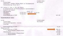 Deutschlandradio Vertragsausschnitt