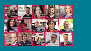 Kandidat*innen für die Deutschlandradio Freienvertretung